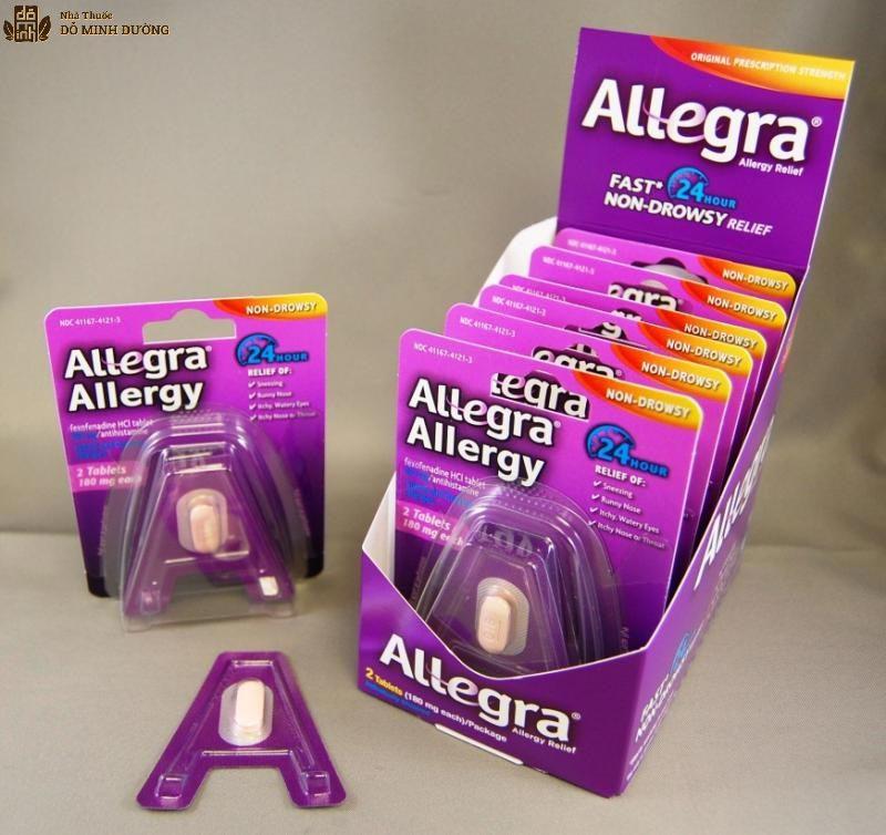 Có thể dùng thuốc Allegra cho mẹ bầu