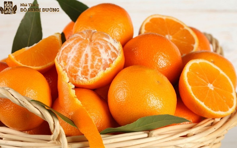 Quýt là một loại trái cây chứa nhiều vitamin C