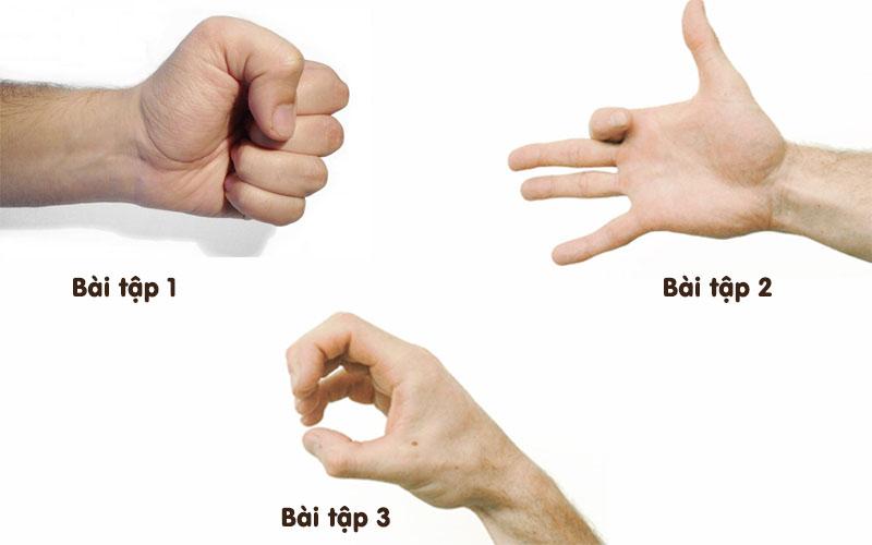 Một số bài tập tăng sức mạnh cho các khớp ngón tay