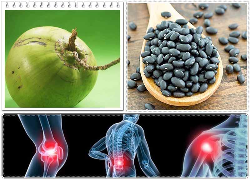 Bài thuốc đậu đen rất tốt cho hệ xương khớp