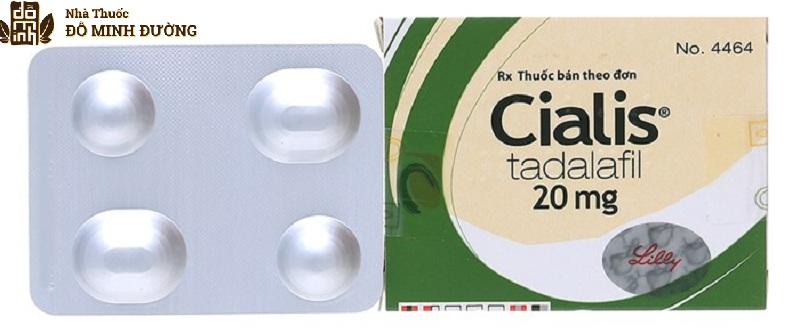 Cialis là thuốc chữa liệt dương mang lại hiệu quả trong thời gian dài