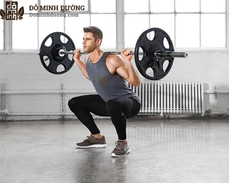 Tập tạ giúp tăng cường testosterone, cải thiện rối loạn cương dương hiệu quả