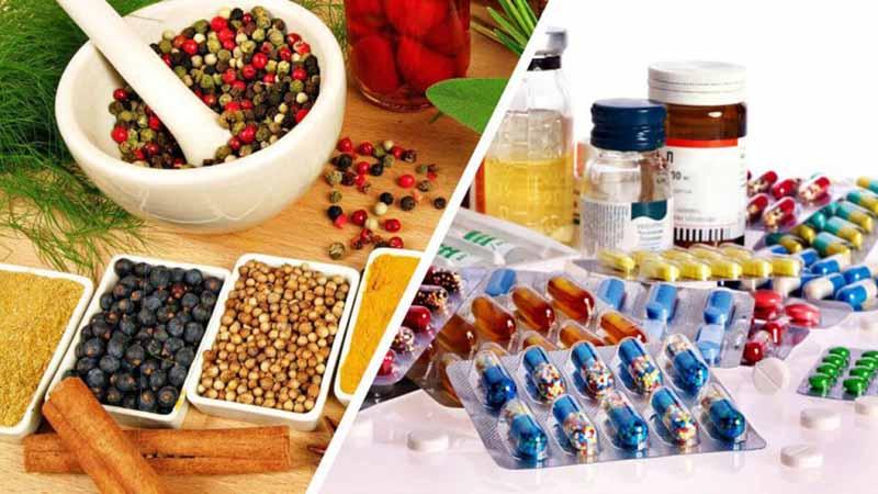 Người bệnh có thể lựa chọn thuốc tân dược hoặc thảo dược để chữa bệnh tùy vào mong muốn của từng người