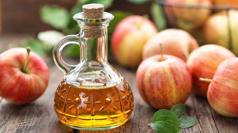 Giấm táo và mật ong giúp điều trị viêm xoang buồn ngủ