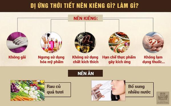 Chế độ ăn uống, kiêng khem có ảnh hưởng rất lớn đến tình trạng bệnh