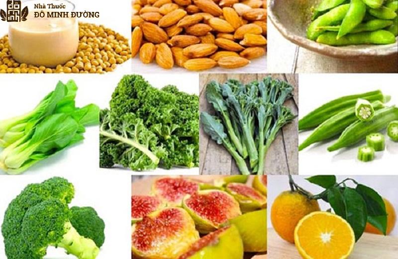 Người bệnh thoái hóa cột sống nên ăn nhiều thực phẩm nhiều canxi