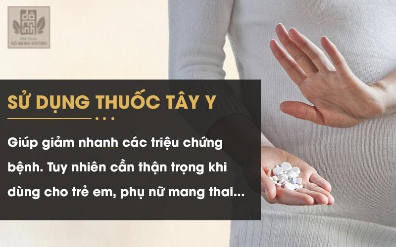 Lưu ý khi sử dụng thuốc chữa viêm xoang, ù tai