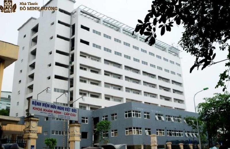 Bệnh viện Việt Đức là cơ sở khám chữa bệnh uy tín, chất lượng