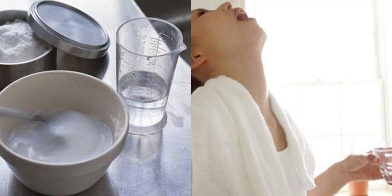 Vệ sinh mũi họng hàng ngày bằng nước muối sinh lý để ngăn ngừa vi khuẩn phát triển