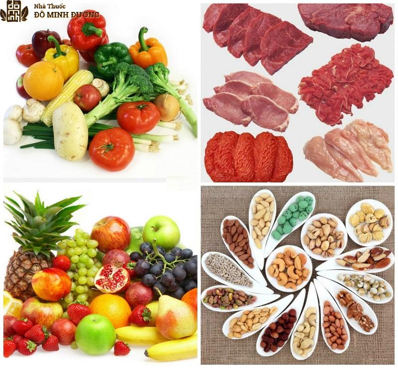 Người bệnh nên xây dựng chế độ ăn dinh dưỡng để hỗ trợ bệnh