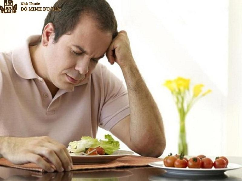 Người bệnh thường cảm thấy mệt mỏi, chán ăn, cơ thể suy nhược