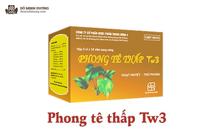 Phong tê thấp TW3 là thuốc do Công ty cổ phần dược phẩm Trung ương 3 sản xuất
