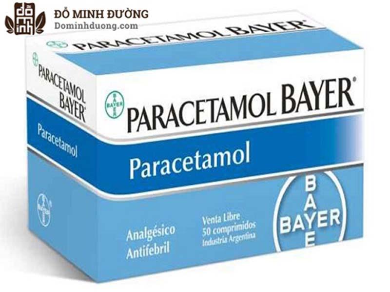 Paracetamol là thuốc giảm đau có tác dụng chữa thoát vị đĩa đệm