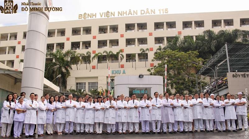 Bệnh viện nhân dân 115 là cơ sở khám chữa bệnh tuy tín, chất lượng cao