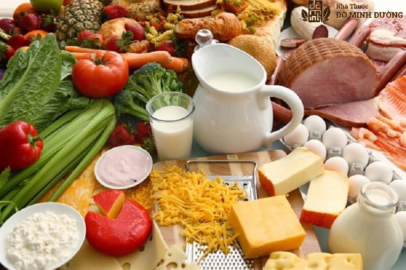 Người bệnh cần xây dựng chế độ ăn dinh dưỡng để hỗ trợ trị bệnh