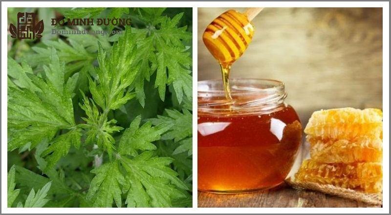 Kết hợp ngải cứu và mật ong để chữa thoái hóa đốt sống cổ
