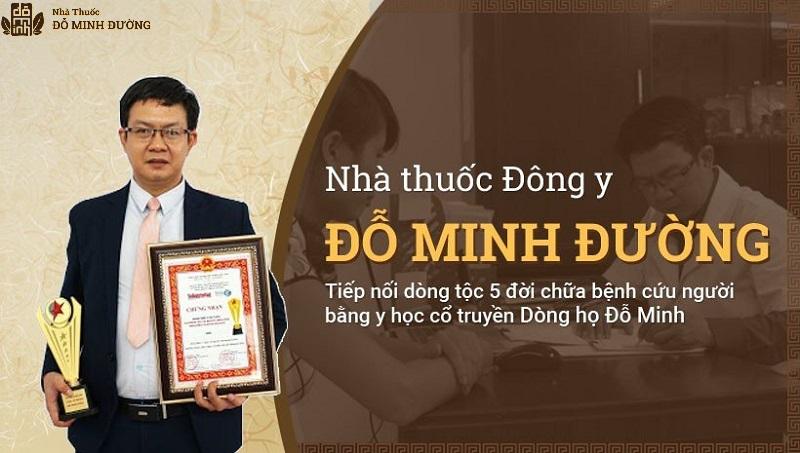 Nhà thuốc Đỗ Minh Đường đã đạt nhiều giải thưởng