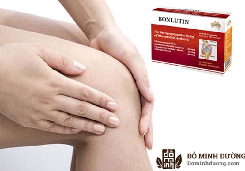 Bonlutin là sản phẩm hỗ trợ điều trị viêm đau, thoái hóa khớp