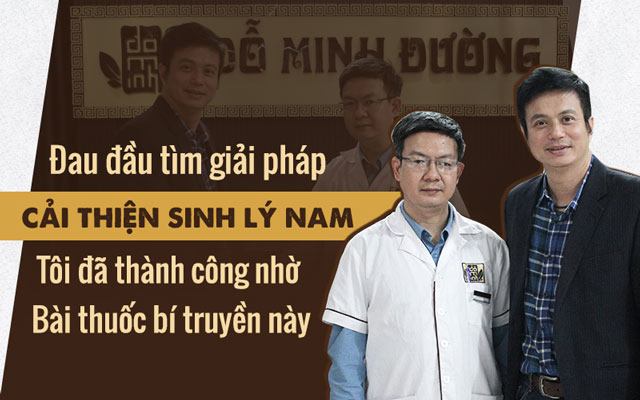 Diễn viên Lê Bá Anh chữa yếu sinh lý thành công tại Đỗ Minh Đường