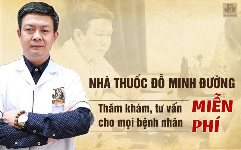 Nhà thuốc Đỗ Minh Đường thường xuyên thăm khám, tư vấn miễn phí cho người bệnh