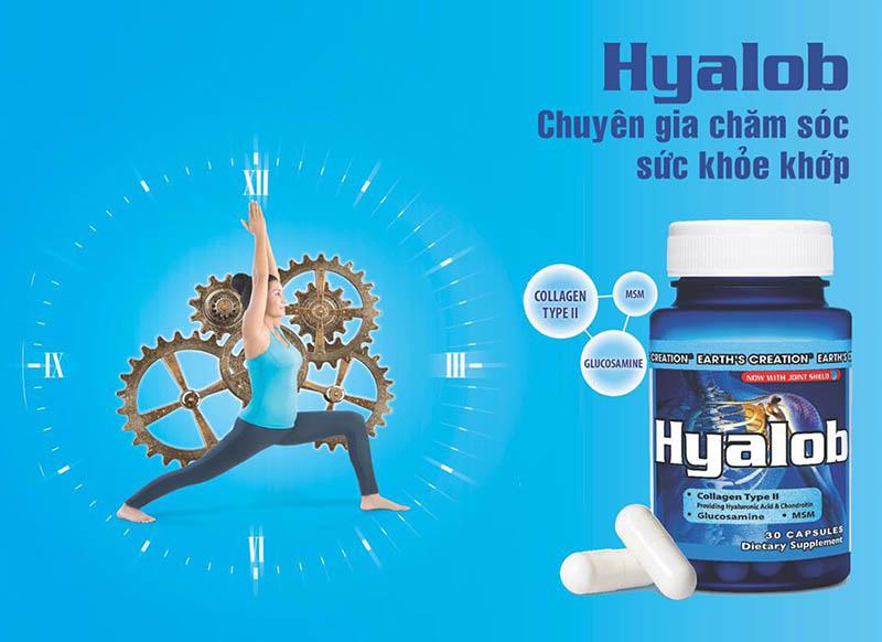 Thuốc Hyalob là thực phẩm chức năng giúp tăng sinh chất nhầy cho khớp