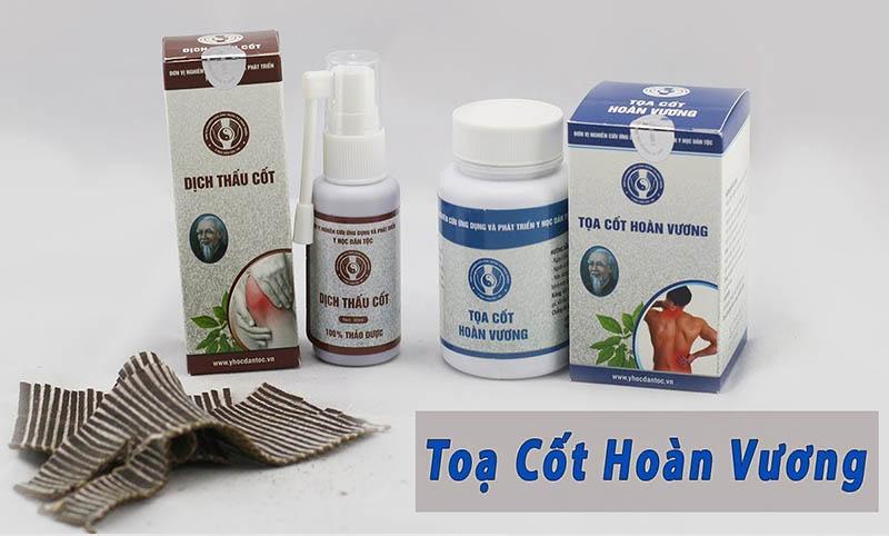 Tọa Cốt Hoàn Vương là thực phẩm chức năng hỗ trợ điều trị các bệnh xương khớp