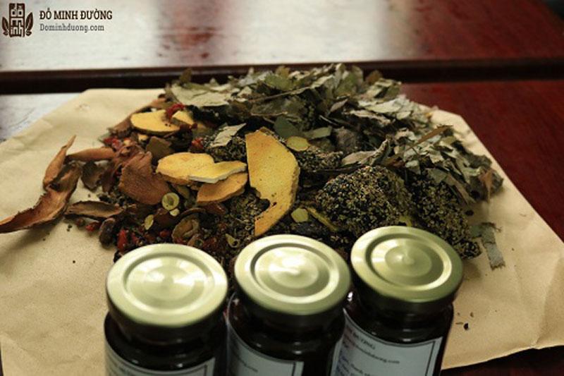Bài thuốc chữa viêm amidan Đỗ Minh Đường