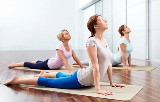 Yoga chữa thoái hóa đốt sống cổ