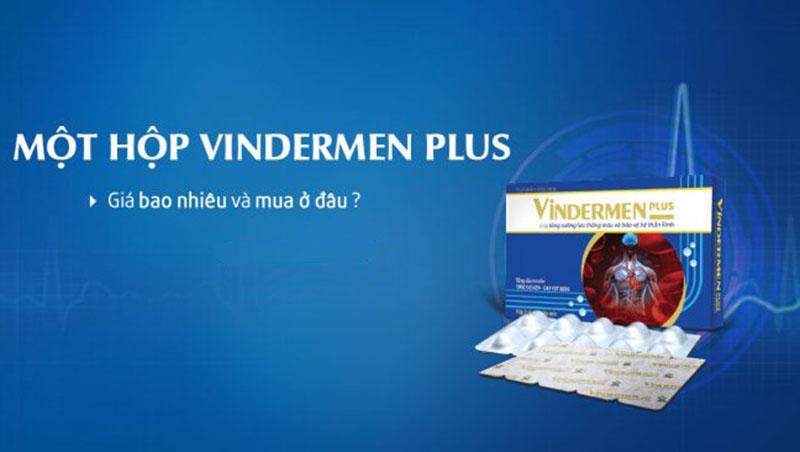 Thuốc Vindermen được bán trên khắp các nhà thuốc lớn nhỏ trên toàn quốc