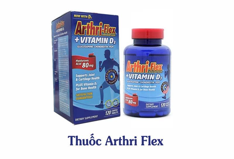 Arthri Flex có thành phần chính là Glucosamine