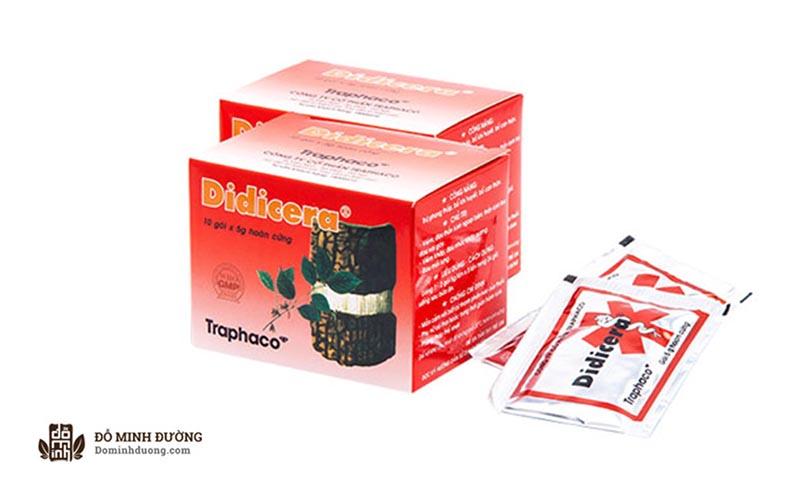 Didicera là một loại thuốcthuộc nhóm thuốc không kê đơn OTC