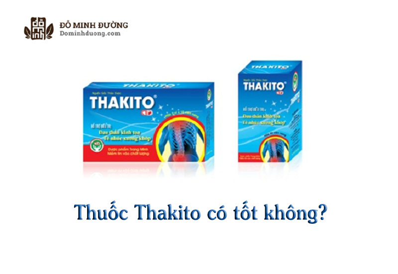 Thuốc Thakita tốt hay không còn tùy thuộc vào cơ địa của mỗi người