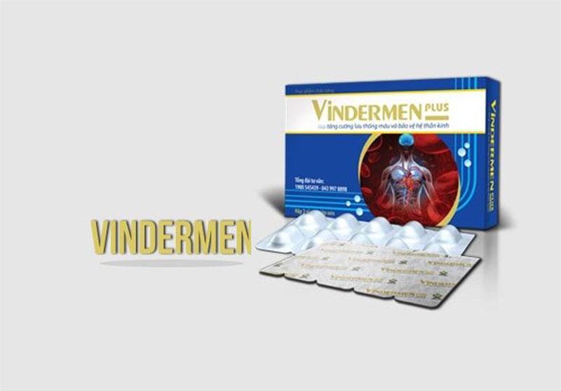 Thuốc Vindermen là sản phẩm được nghiên cứu và sản xuất bởi Công ty CP Dược phẩm Sao Kim