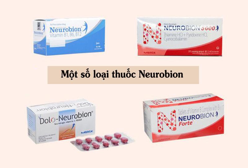 Một số loại thuốc Neurobion