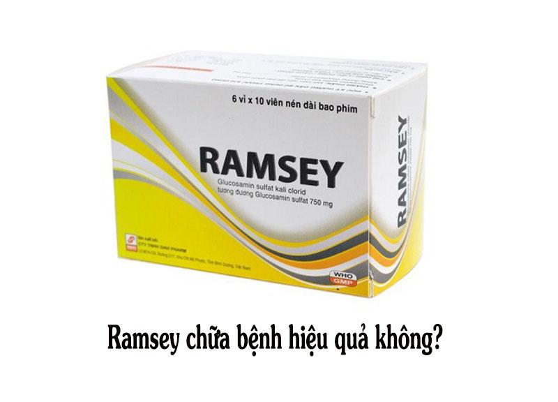 Thuốc Ramsey tùy vào từng đối tượng sử dụng phát huy hiệu quả khác nhau