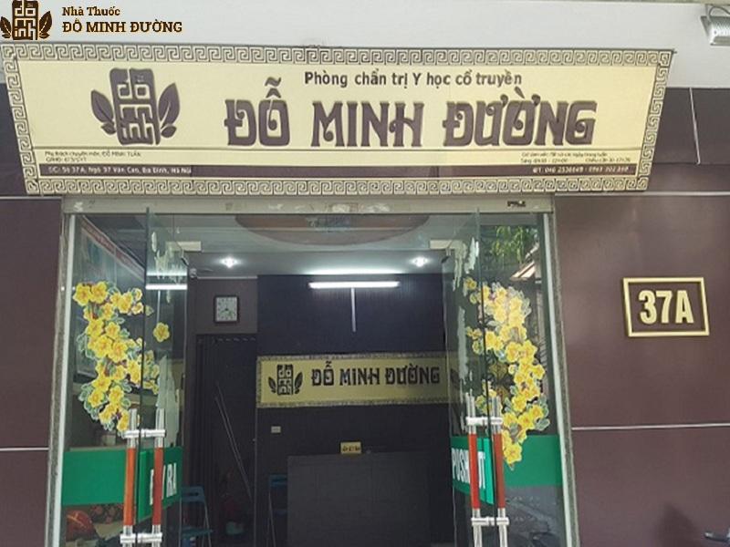 Nhà thuốc Đỗ Minh Đường là cơ sở khám chữa xương khớp theo Đông y hiệu quả