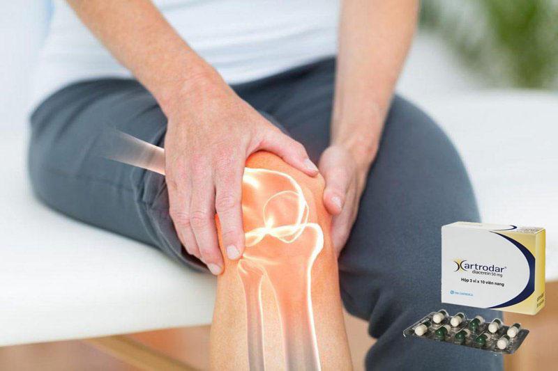 Thuốc Artrodar hỗ trợ điều trị viêm đau, thoái hóa xương khớp