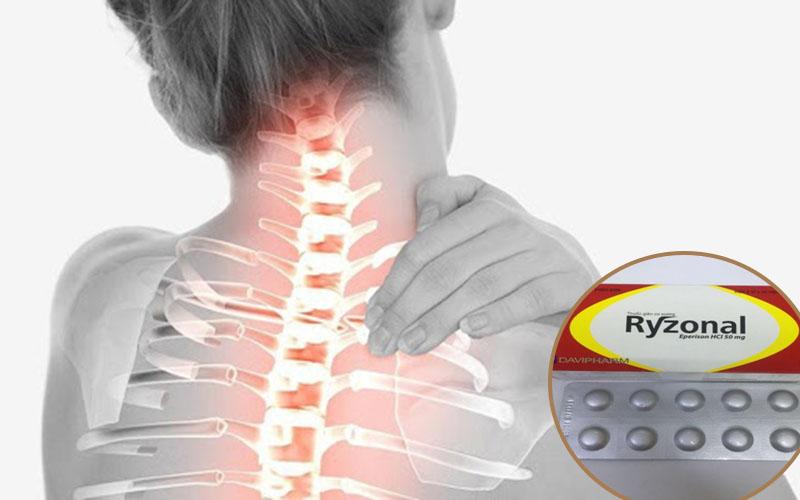 Thuốc Ryzonal hỗ trợ điều trị thoái hóa đốt sống cổ