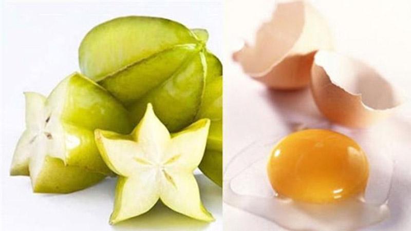 """Khế chua và trứng gà có thể giúp hạn chế tình trạng """"mọc gai"""" trên thân cột sống"""