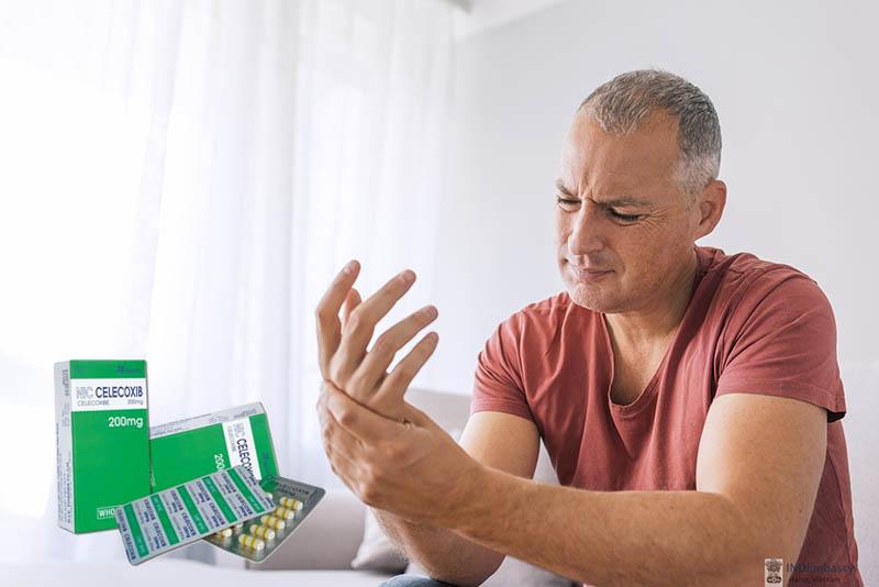 Celecoxib có công dụng chữa đau nhức xương khớp