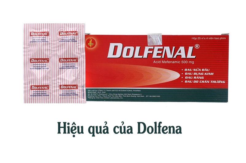 Thuốc Dolfenal 500mg hiệu quả khác nhau trên từng người bệnh