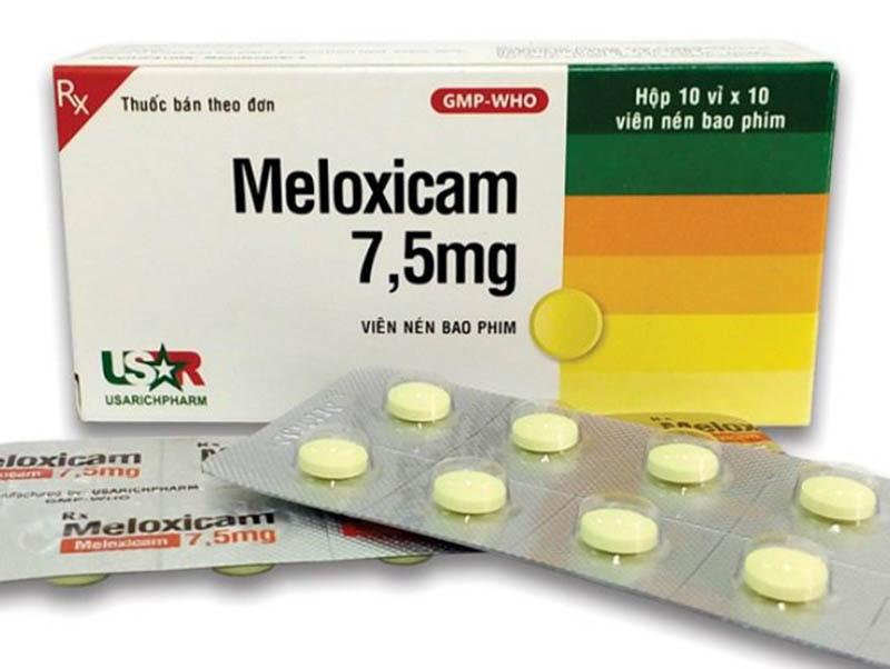 Thuốc Meloxicam cần dùng đúng liều lượng