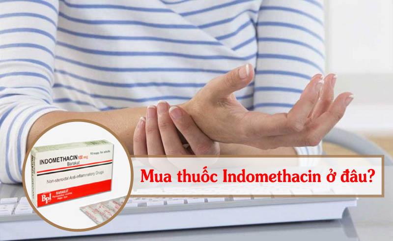Thuốc Indomethacin 25mg cần mua đúng chỗ