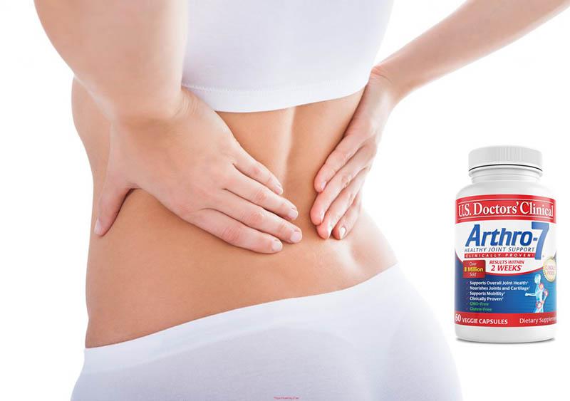 Arthro 7 giúp phục hồi sự tổn thương, tăng cường hoạt dịch để sụn khớp khỏe mạnh