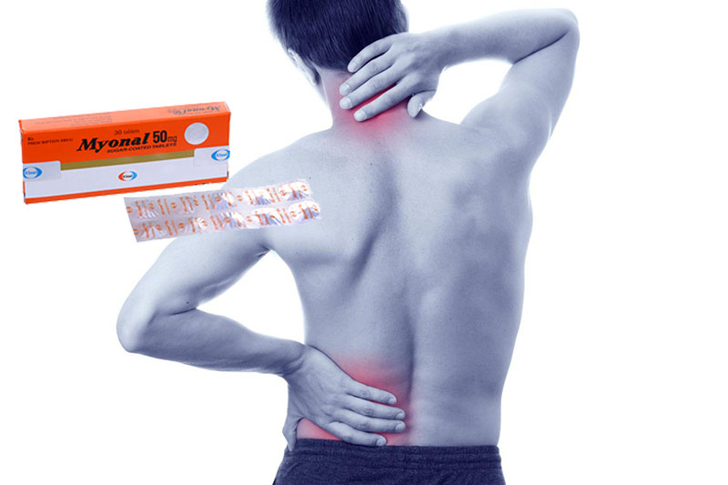 Thuốc Myonal 50mg có tác dụng hỗ trợ điều trị viêm đau khớp vai