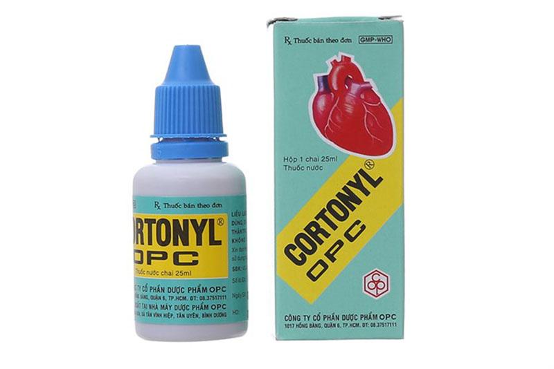 Thuốc Cortonyl được xếp vào nhóm thuốc tim mạch.