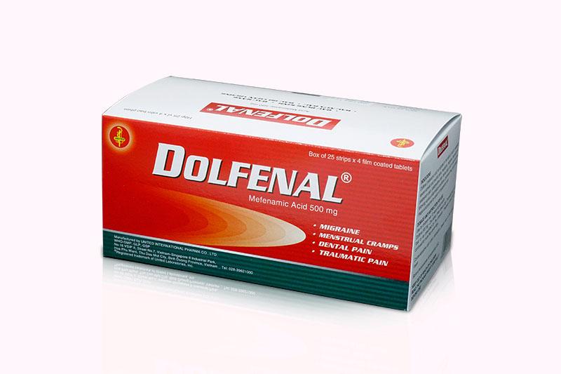 Thuốc Dolfenal 500mg có tác dụng hỗ trợ điều trị viêm khớp