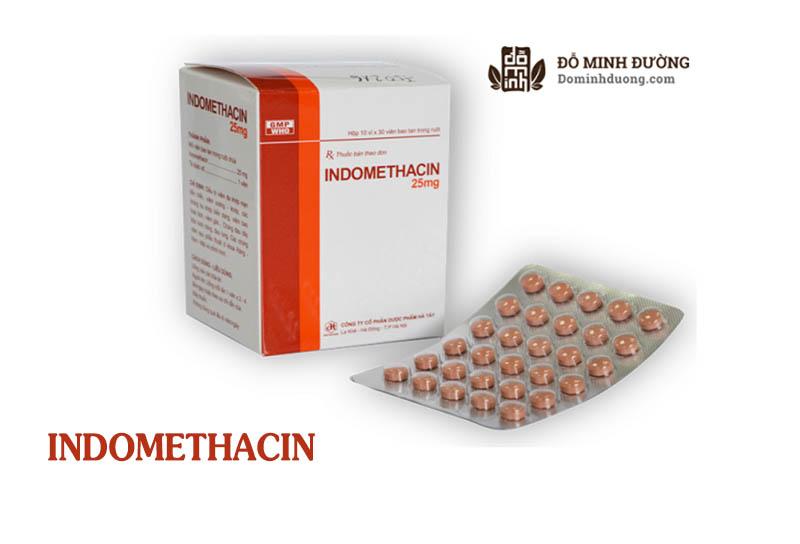 Thuốc Indomethacin 25mg chữa viêm khớp an toàn, hiệu quả