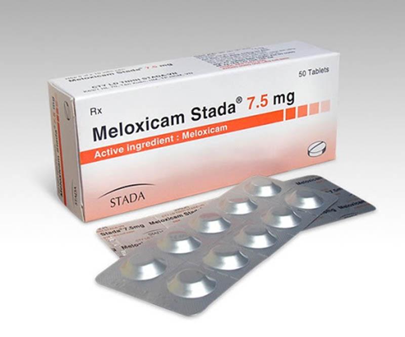 Thuốc Meloxicam hỗ trợ giảm đau, chống viêm an toàn, hiệu quả