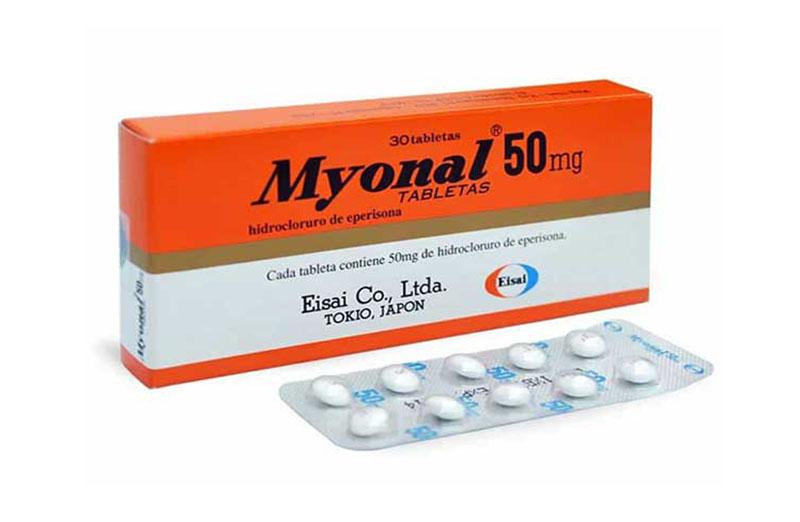 Thuốc Myonal là dược phẩm có chứa hoạt chất Eperisone